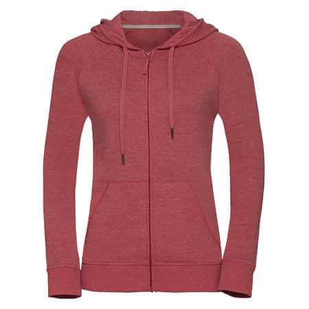 Ladies` HD Zipped Hood Sweat von Russell (Artnum: Z284F