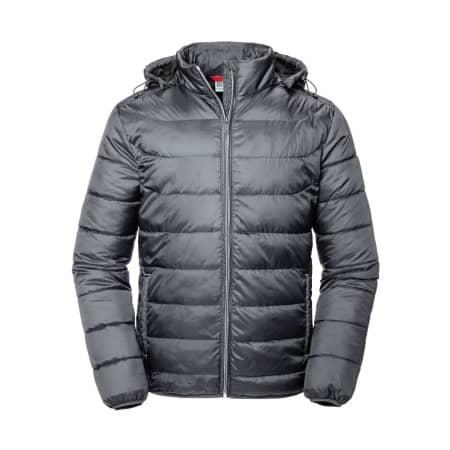 Men´s Hooded Nano Jacket von Russell (Artnum: Z440M