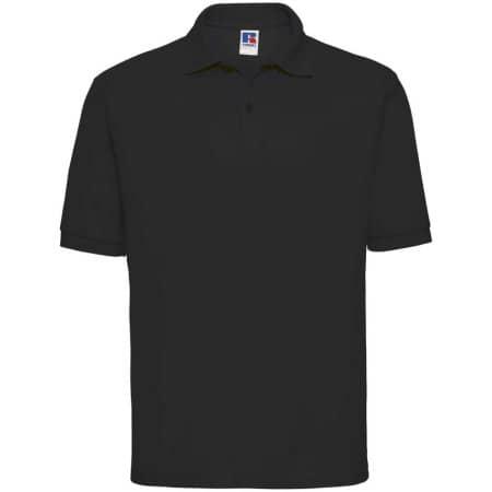 Poloshirt 65/35 in Black von Russell (Artnum: Z539