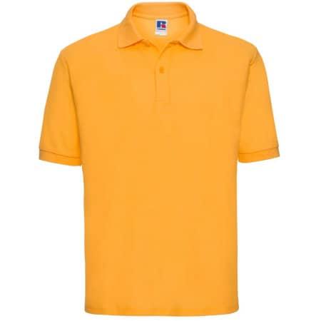 Poloshirt 65/35 in Pure Gold von Russell (Artnum: Z539