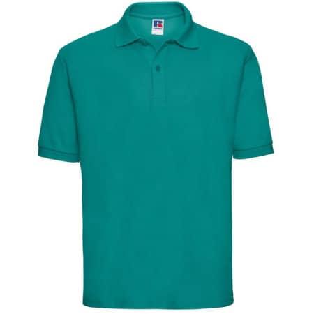 Poloshirt 65/35 in Winter Emerald von Russell (Artnum: Z539
