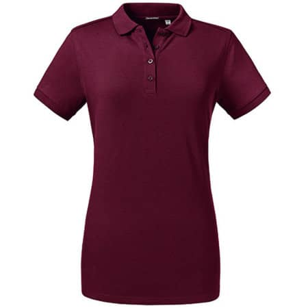 Ladies´ Tailored Stretch Polo von Russell (Artnum: Z567F