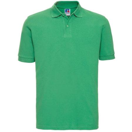Men`s Classic Cotton Polo in Apple von Russell (Artnum: Z569