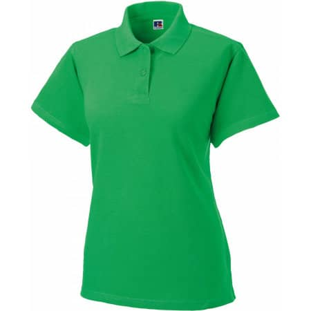 Ladies` Classic Cotton Polo in Apple von Russell (Artnum: Z569F