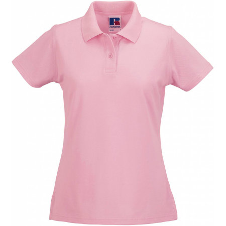 Ladies` Classic Cotton Polo in Candy Pink von Russell (Artnum: Z569F