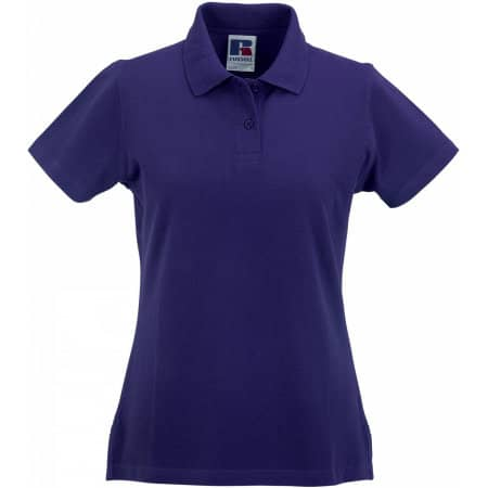 Ladies` Classic Cotton Polo von Russell (Artnum: Z569F