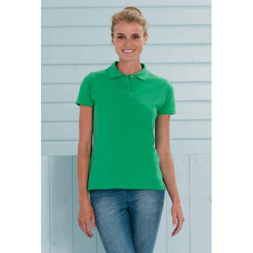 Russell - Ladies` Classic Cotton Polo