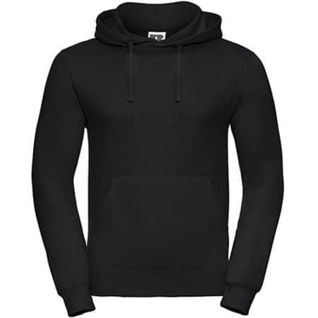 Hooded Sweatshirt in Black von Russell (Artnum: Z575N
