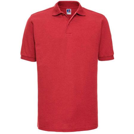 Strapazierfähiges Poloshirt 599 in Bright Red von Russell (Artnum: Z599