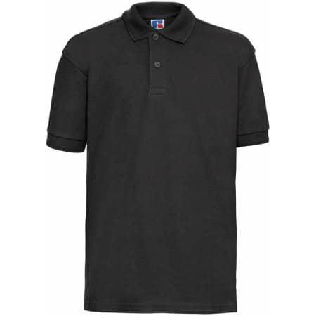 Kids` Poloshirt in Black von Russell (Artnum: Z599K