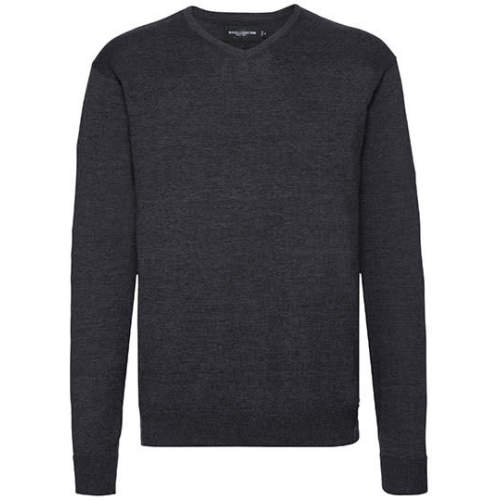 Russell Collection - V-Neck Knitted Jumper