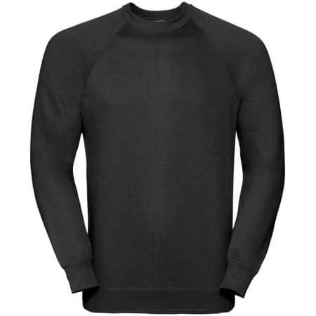 Raglan-Sweatshirt in Black von Russell (Artnum: Z762