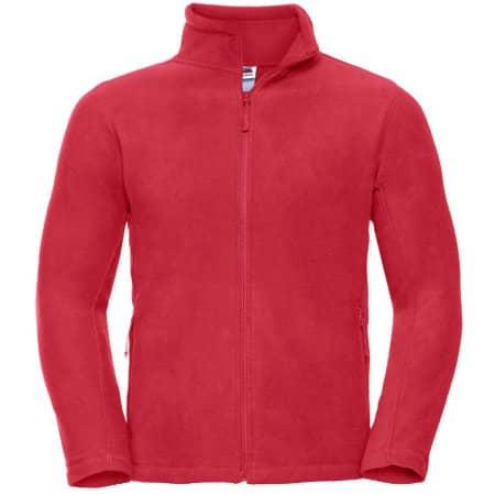 Outdoor Fleece Jacke in Classic Red von Russell (Artnum: Z8700