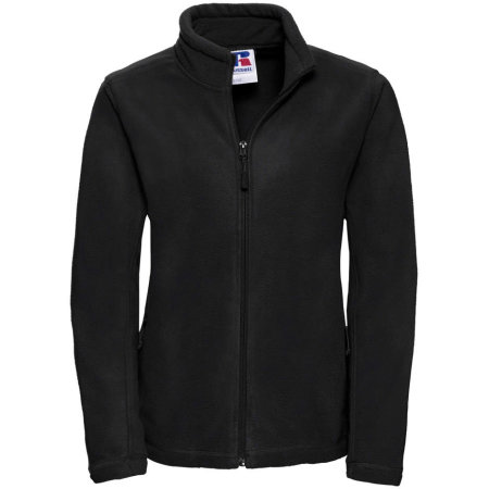 Damen Outdoor Fleece Jacke in Black von Russell (Artnum: Z8700F