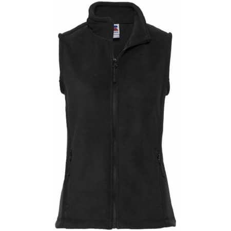 Damen Fleece Gilet in Black von Russell (Artnum: Z8720F