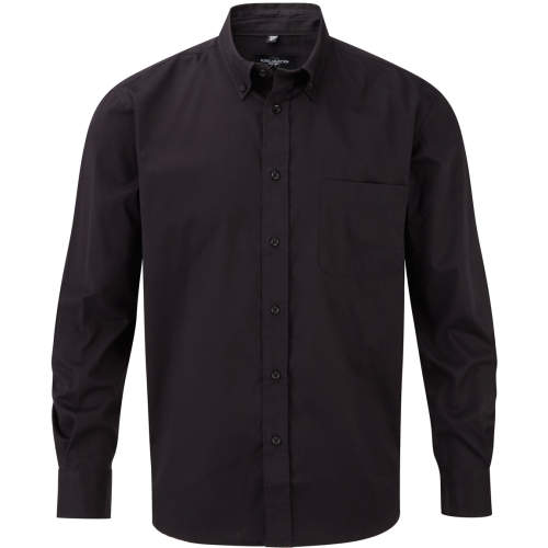 Russell Collection - Men`s Long Sleeve Classic Twill Shirt