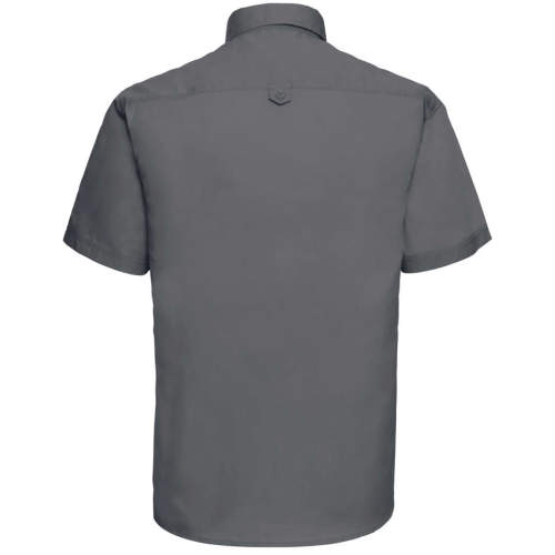 Russell Collection - Men`s Short Sleeve Classic Twill Shirt