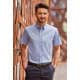 Thumbnail Hemden und Blusen: Men`s Short Sleeve Classic Twill Shirt Z917 von Russell Collection