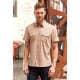 Thumbnail Hemden und Blusen: Men`s Roll Short Sleeve Twill Shirt Z919 von Russell Collection