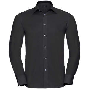 Men`s Long Sleeve Tailored Oxford Shirt