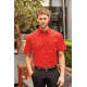 Thumbnail Hemden und Blusen: Men`s Short Sleeve Polycotton Poplin Shirt Z935 von Russell Collection