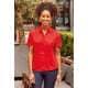 Thumbnail Hemden und Blusen: Ladies` Short Sleeve Polycotton Poplin Shirt Z935F von Russell Collection