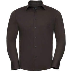 Men`s Long Sleeve Fitted Shirt