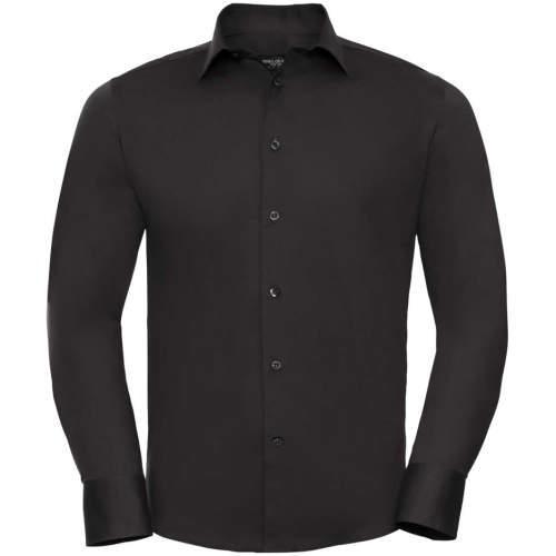 Russell Collection - Men`s Long Sleeve Fitted Shirt