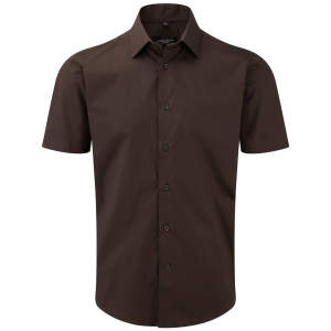 Men`s Short Sleeve Fitted Shirt
