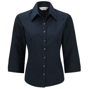 Ladies` 3/4 Sleeve Tencel® Fitted Shirt