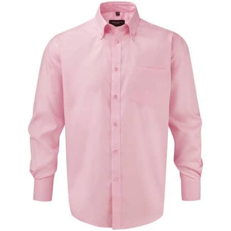 Men`s Long Sleeve Ultimate Non-Iron Shirt von Russell (Artnum: Z956