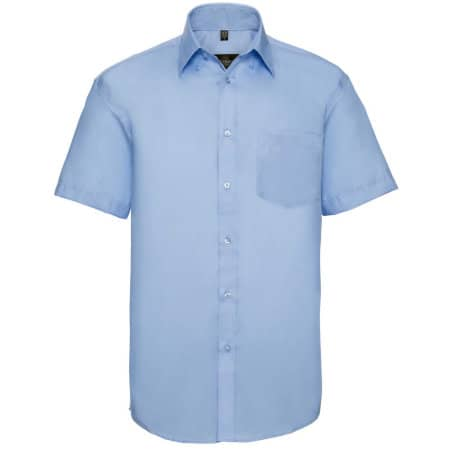 Men`s Short Sleeve Ultimate Non-Iron Shirt von Russell Collection (Artnum: Z957
