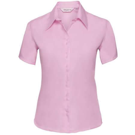 Ladies` Short Sleeve Ultimate Non-Iron Shirt von Russell Collection (Artnum: Z957F