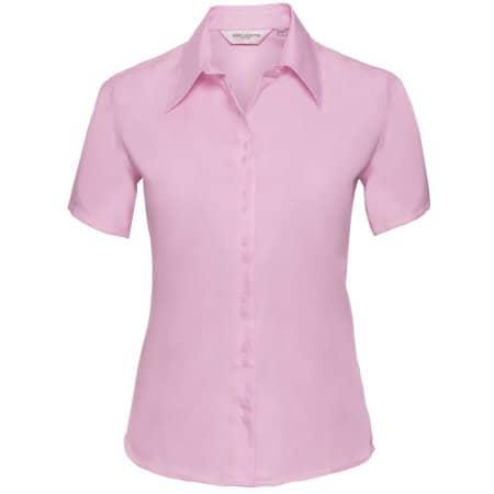 Ladies` Short Sleeve Ultimate Non-Iron Shirt von Russell Collection (Artnum: Z957F