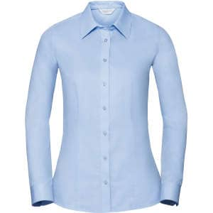 Ladies` Long Sleeve Tailored Coolmax® Shirt