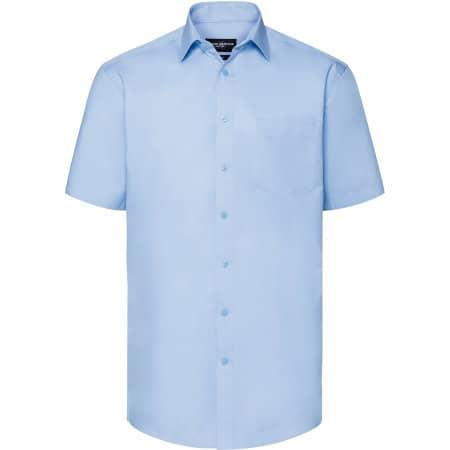 Men`s Short Sleeve Tailored Coolmax® Shirt von Russell (Artnum: Z973